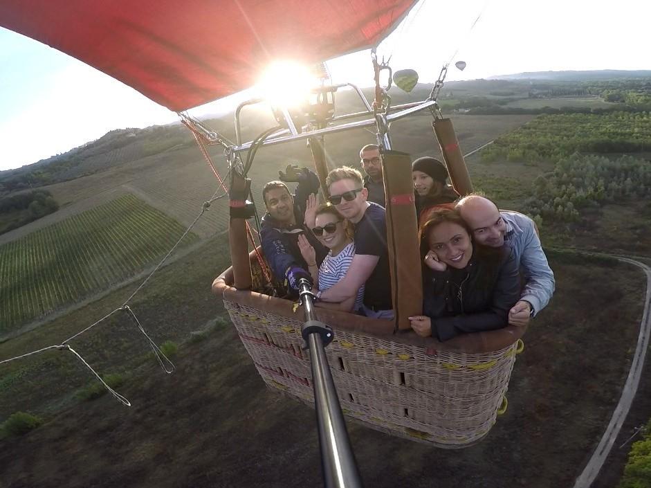 Ballooning tuscany