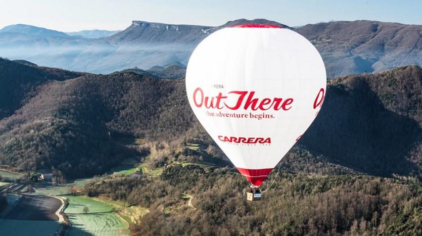 Monteriggioni in hot air balloon