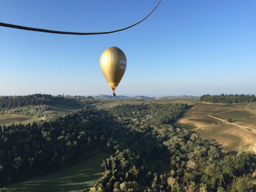 Balloon in chianti Gold