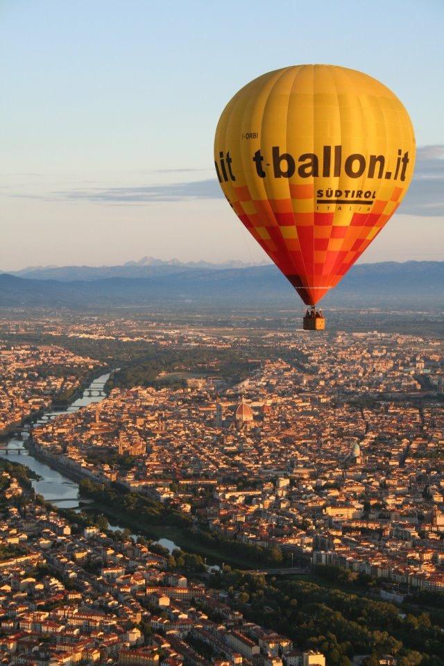 Ballooning in Florence