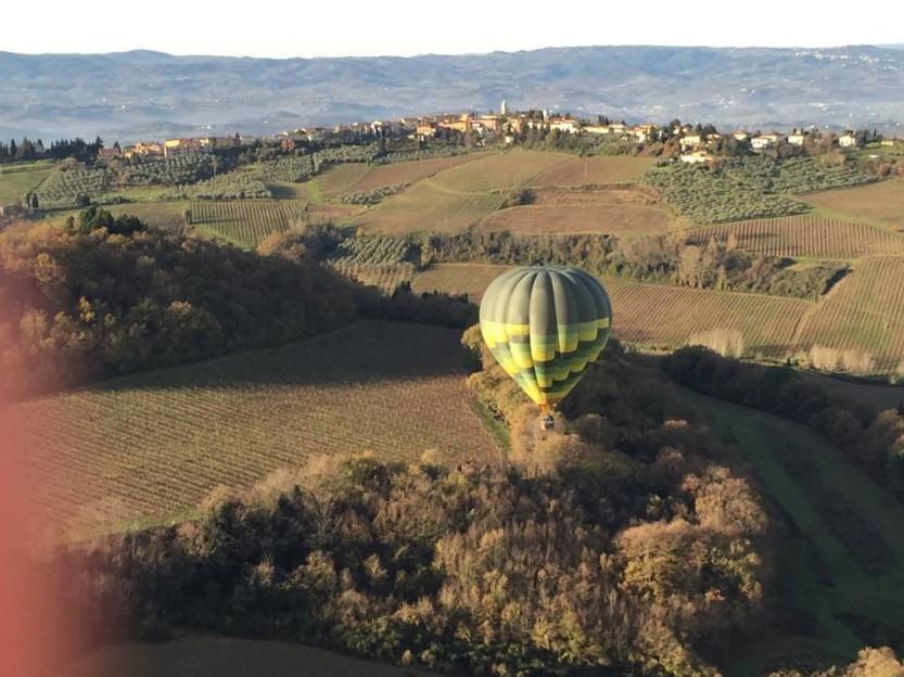 Ballooning Chianti in October