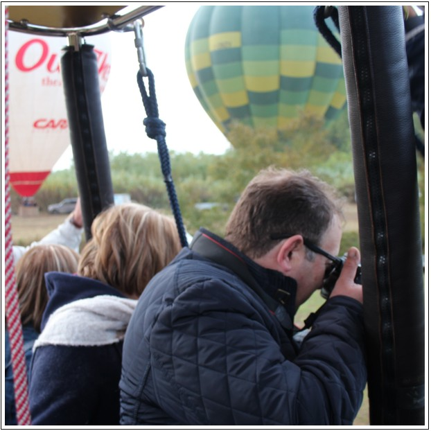 Hot air Balloon photographers in Tuscany