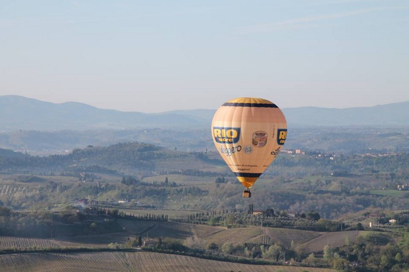Hot air Balloon Tuscany