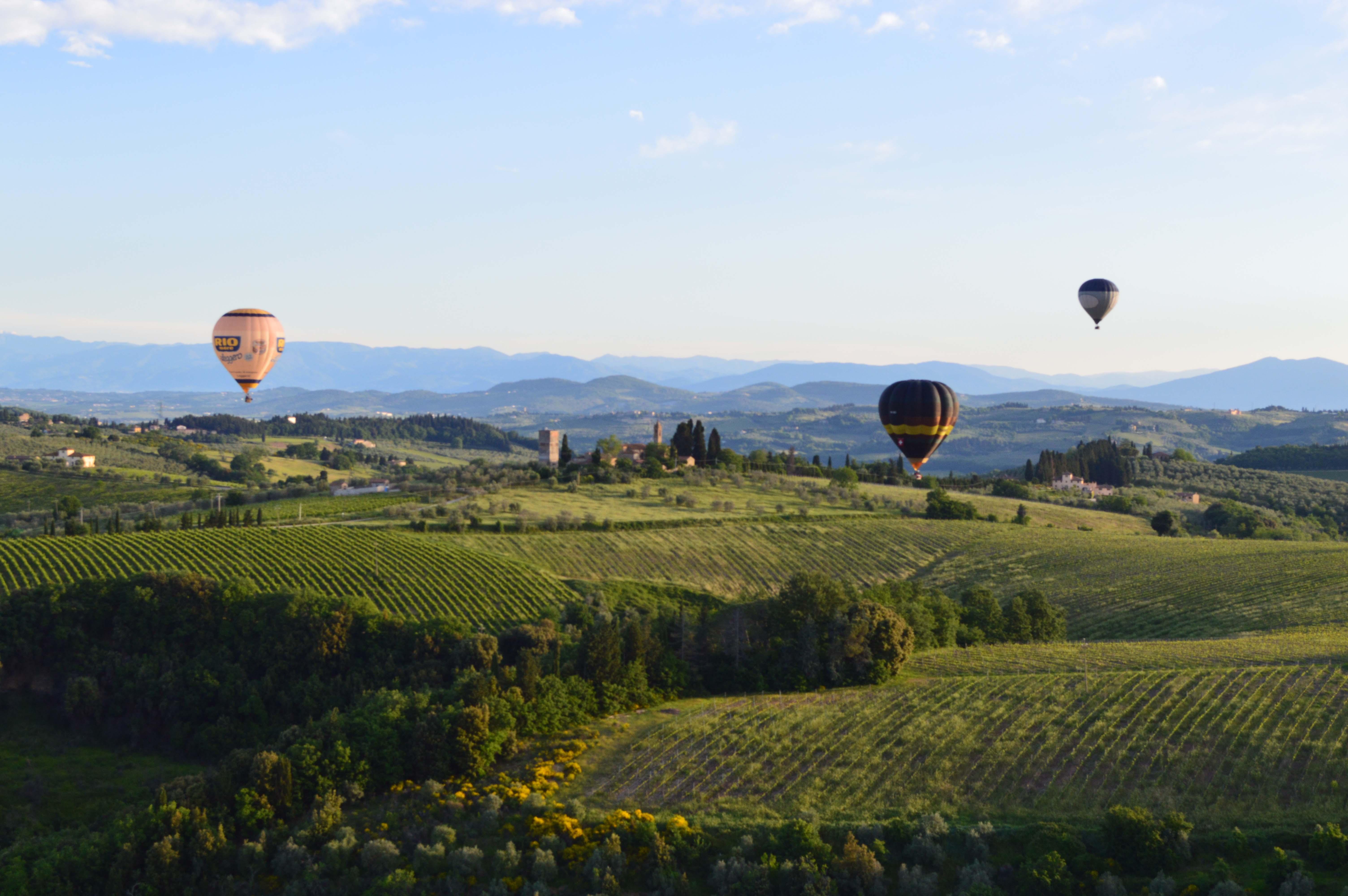 The Breakfast Balloon Flight