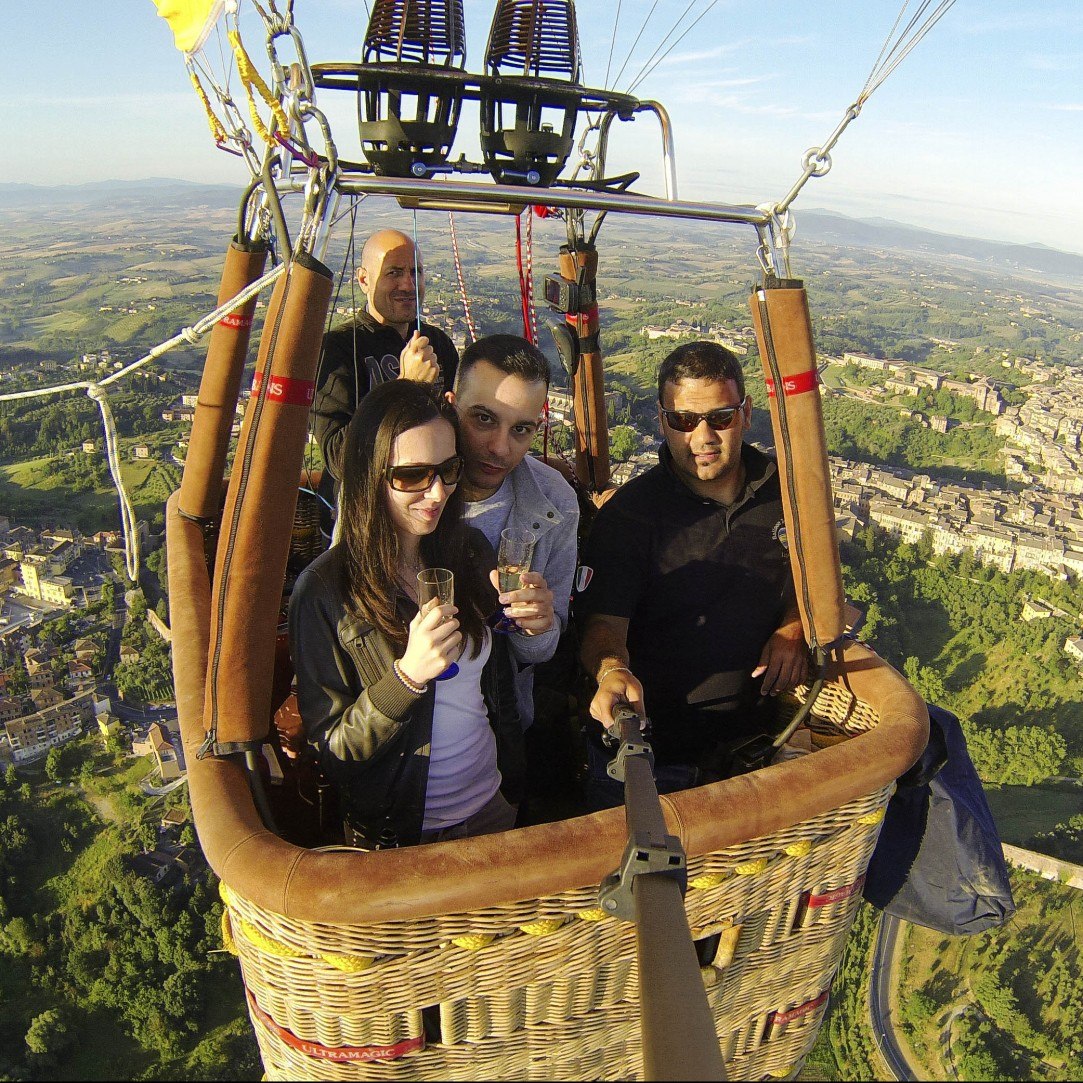 Ballooning in Tuscany Private Flight