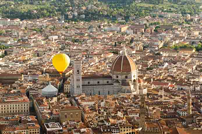 Private Ballooning over Florence