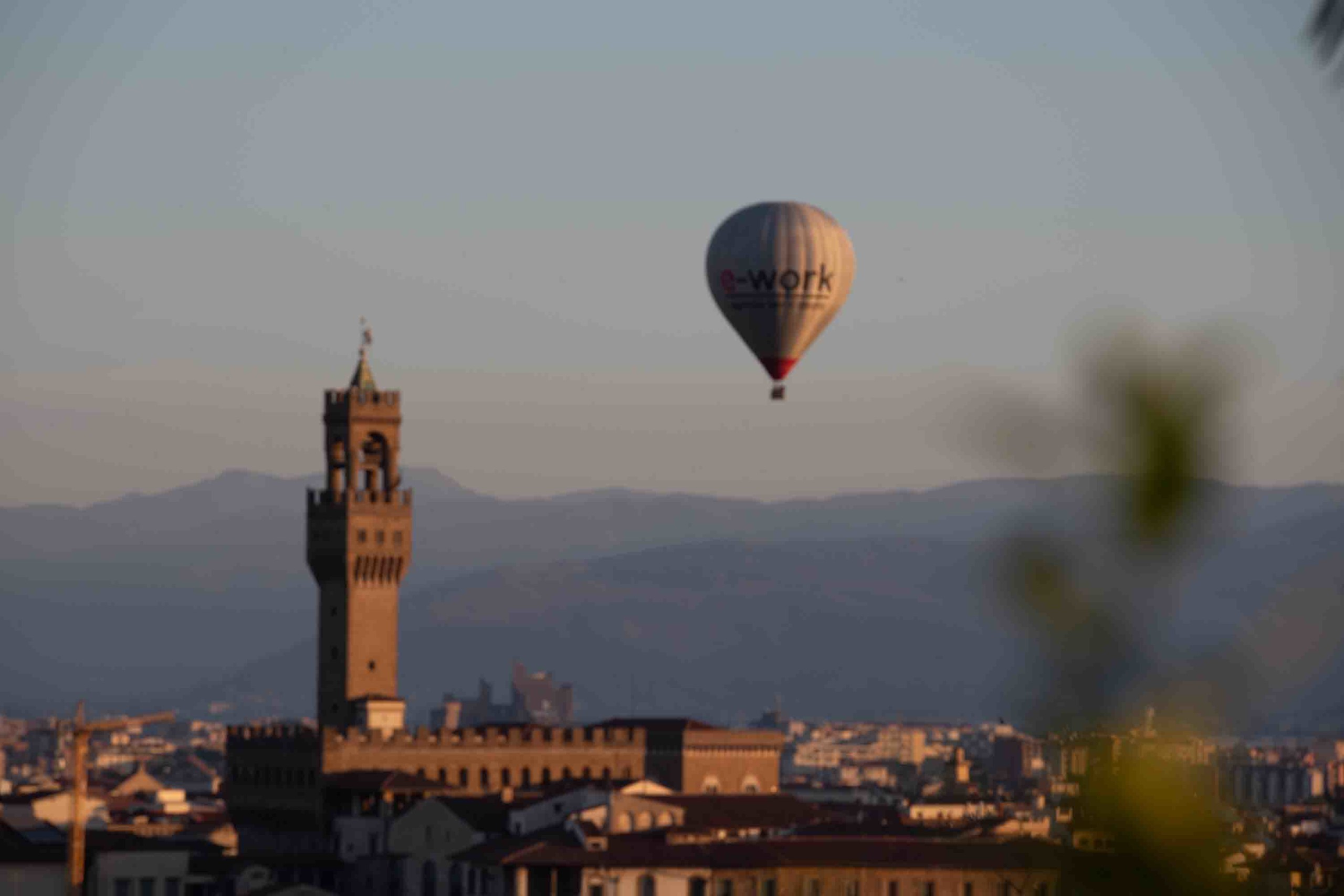 Two Balloons over Florence